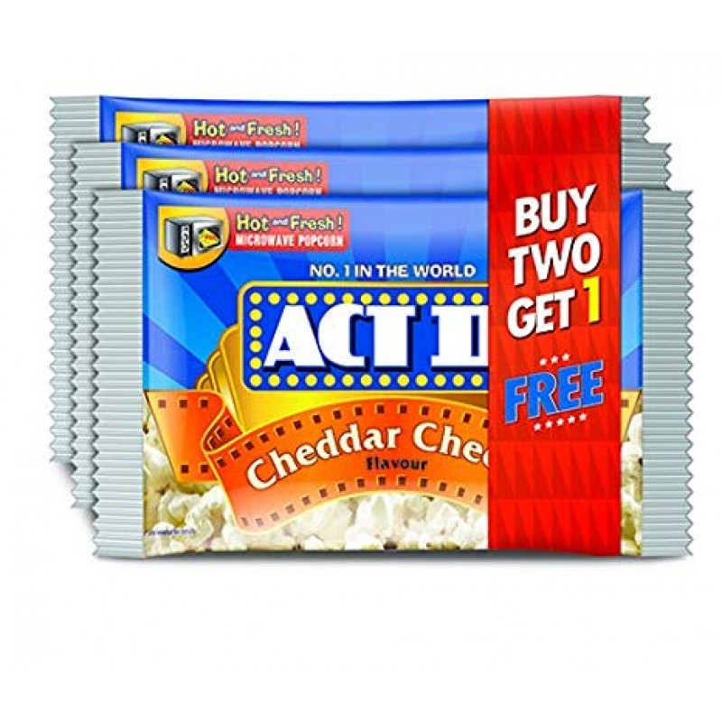 ACT 2 CHEDDAR CHEESE FLAVOUR (BUY 2 GET 1 FREE)