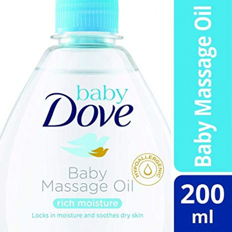 DOVE BABY MASSAGE OIL 200ML