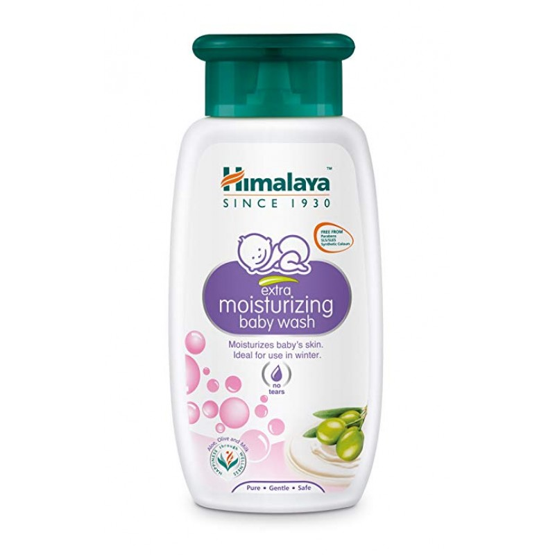 HIMALAYA EXTRA MOISTURIZING BABY WASH 200ML