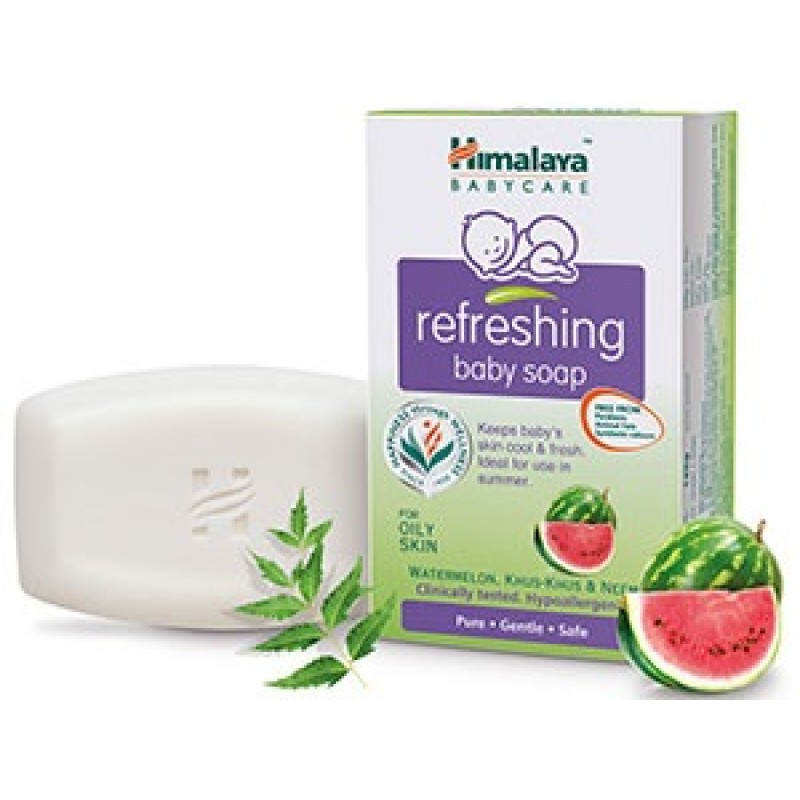 HIMALAYA REFRESHING BABY SOAP 100G