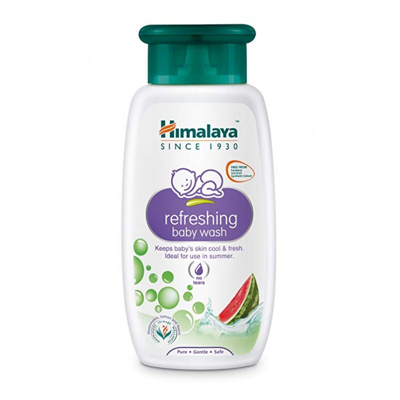 HIMALAYA REFRESHING BABY WASH 200ML