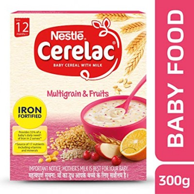 NESTLE CERELAC MULTIGRAIN AND FRUITS 300G