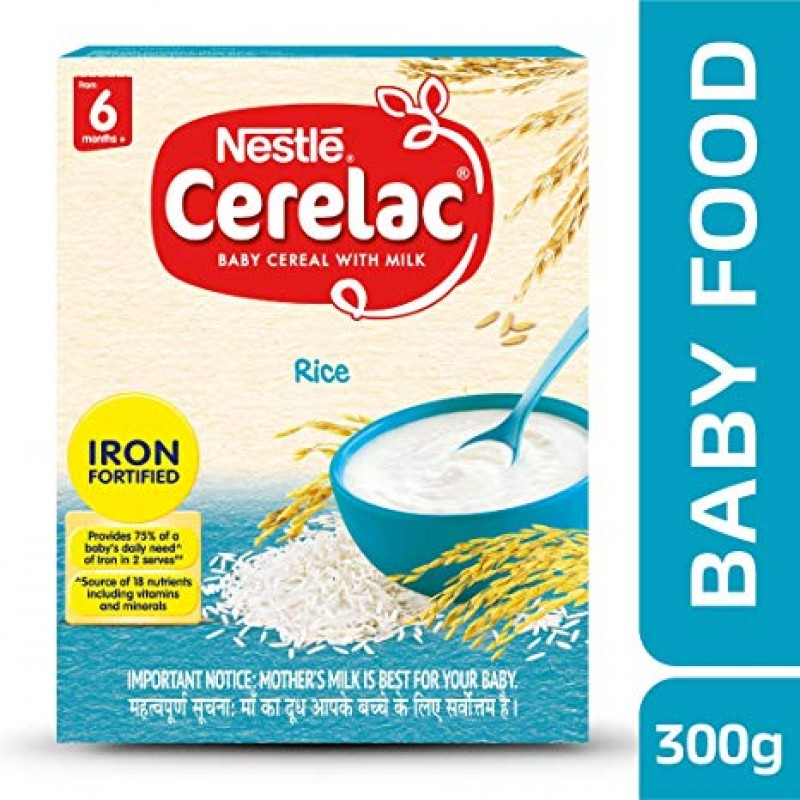 NESTLE CERELAC RICE 300G