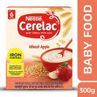 NESTLE CERELAC WHEAT APPLE 300G