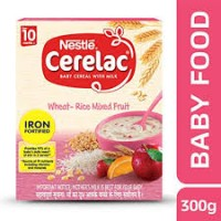 NESTLE CERELAC WHEAT-RICE MIXED FRUIT 300G