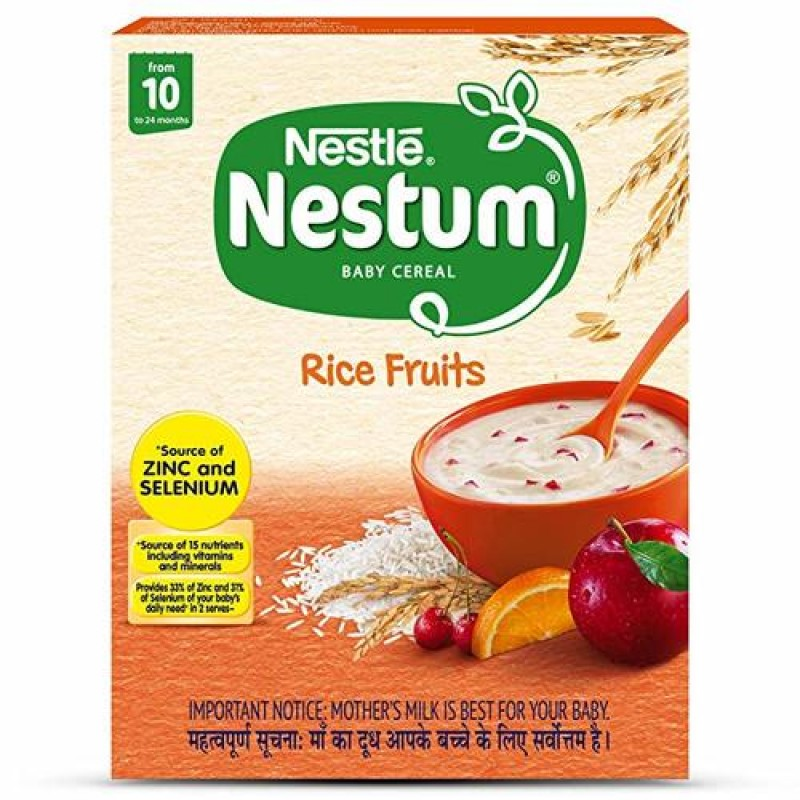 NESTLE NESTUM BABY CEREAL RICE FRUITS 300G