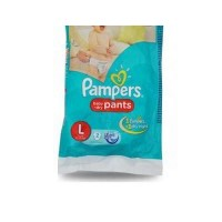 PAMPERS BABY DRY PANTS L 9-14KG 2 PANTS