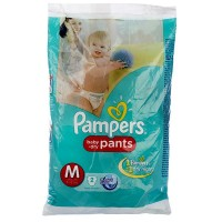PAMPERS BABY DRY PANTS M 7-12KG 2 PANTS
