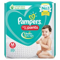 PAMPERS BABY DRY PANTS M 7-12KG 20 PANTS