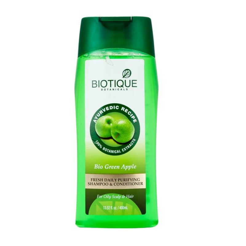 BIOTIQUE GREEN APPLE 400ML