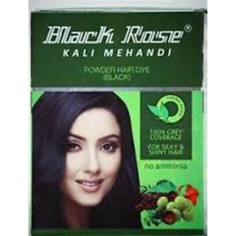 BLACK ROSE KALI MEHANDI POWDER HAIR DYE 10G