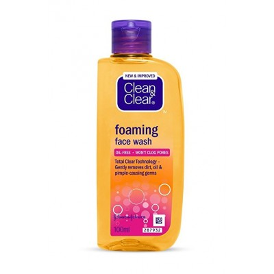 CLEAN AND CLEAR FOAMING FACE WASH 150ML