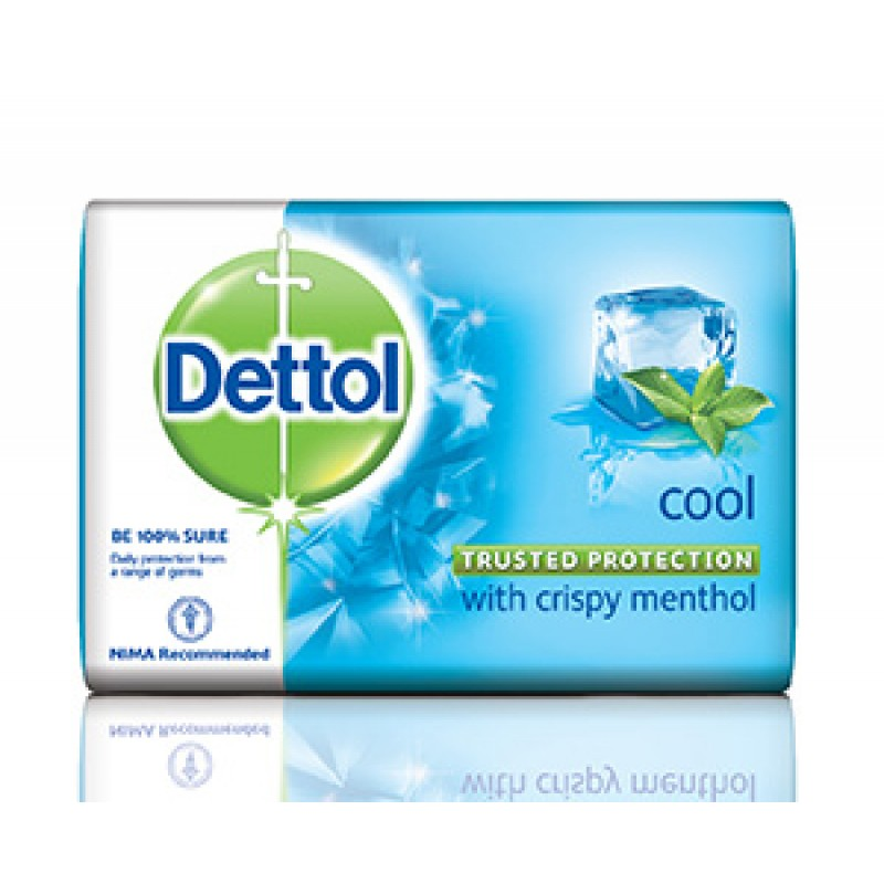 DETTOL COOL WITH CRISPY MENTHOL 125G