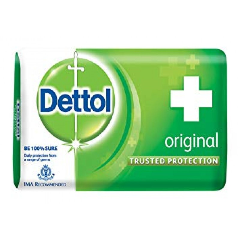 DETTOL ORIGINAL 125G (PACK OF 4)