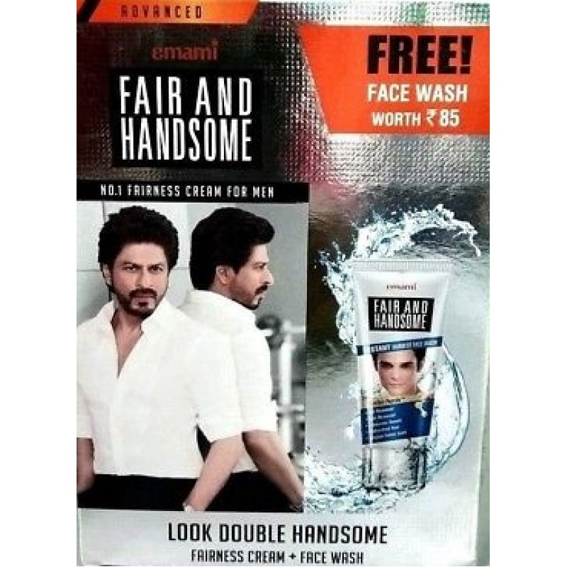 EMAMI FAIR AND HANDSOME WITH FREE FACE WASH 110G