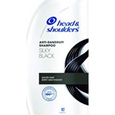 HEAD AND SHOULDERS SILKY BLACK SHAMPOO 360ML + 72ML TRIAL PACK