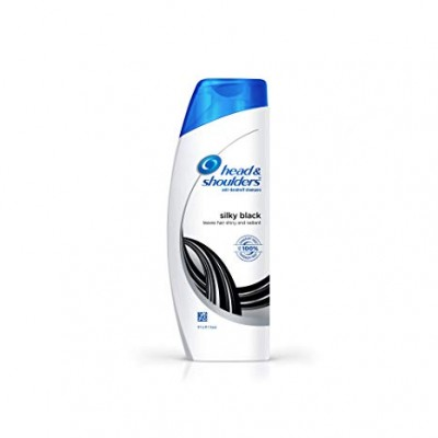 HEAD AND SHOULDERS SILKY BLACK SHAMPOO 72ML