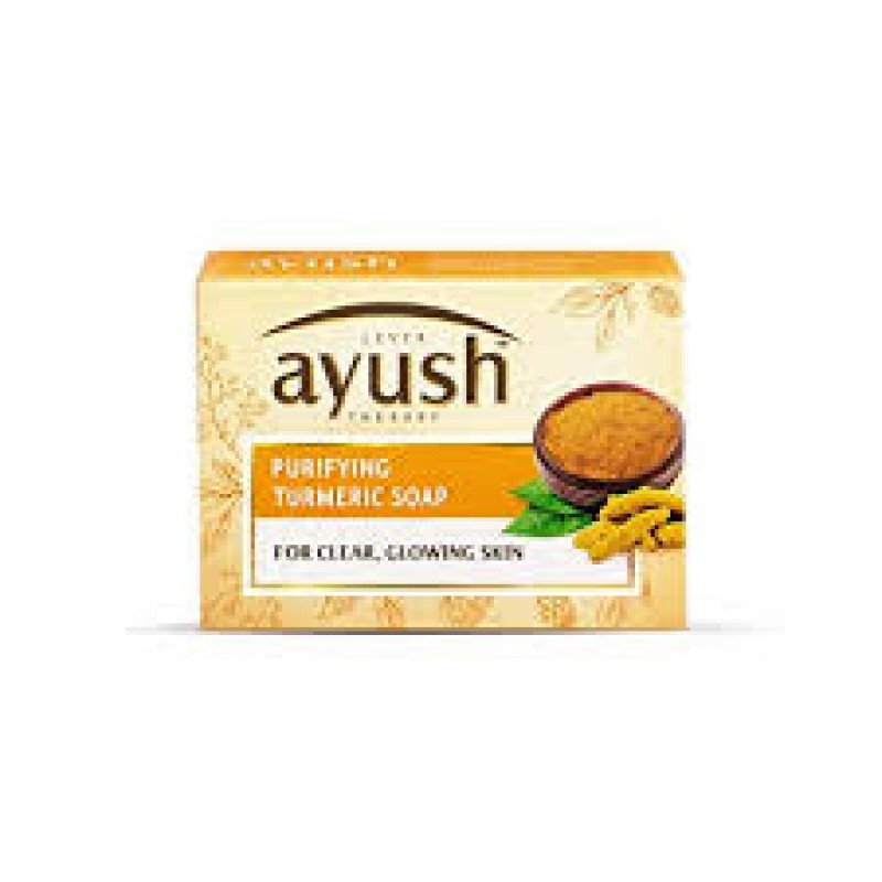LEVER AYUSH PURIFYING TURMERIC SOAP 100G