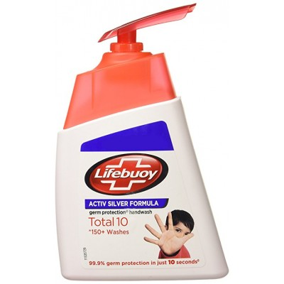 LIFEBUOY TOTAL 10 GERM PROTECTION HANDWASH 190ML