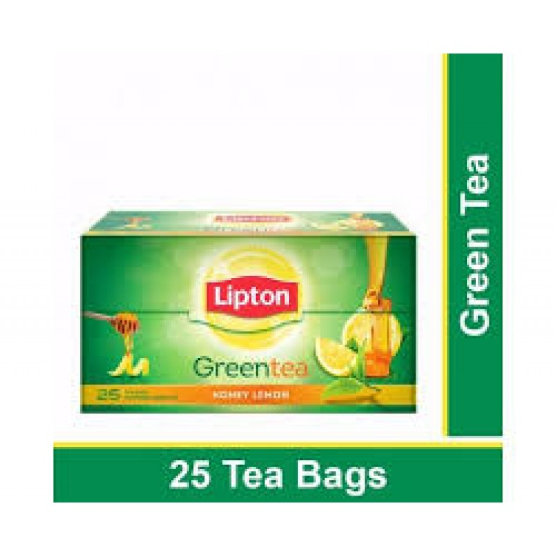 LIPTON GREEN TEA HONEY LEMON(25 TEA BAGS)