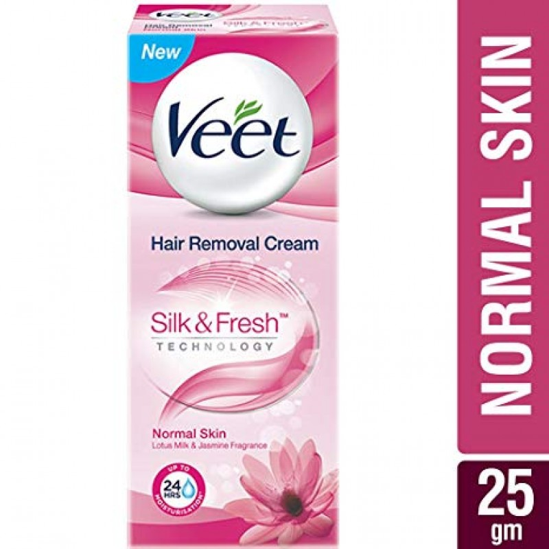 VEET HAIR REMOVAL CREAM SILK AND FRESH 25G