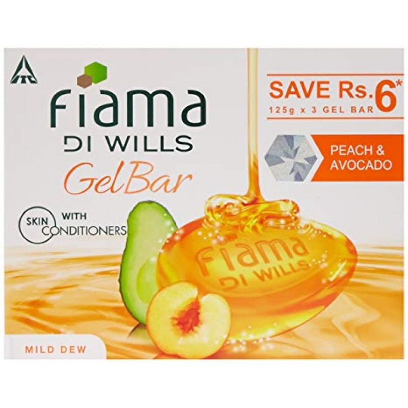 fIAMA GEL BAR PEACH & AVACADO 100G