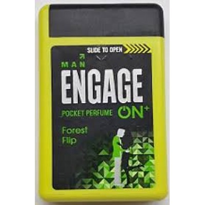 ENGAGE ON PLUS FOREST FLIP POCKET PERFUME FOR MEN- 18ML