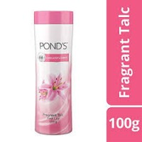 PONDS DREAMFLOWER FRAGRANT TALC PINK LILY 100G
