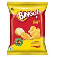 BINGO POTATO CHIPS CHILLI SPRINKLED