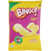 BINGO POTATO CHIPS SALT SPRINKLED