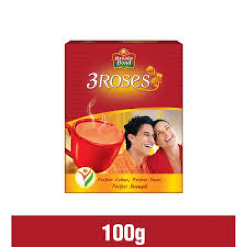 BROOKE BOND 3 ROSES 100G