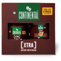 CONTINENTAL XTRA INSTANT SOUTH BLEND JAR 50G + 25 G FREE