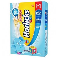 JUNIOR HORLICKS 123 STAGE-1 ORIGINAL FLAVOUR 500G