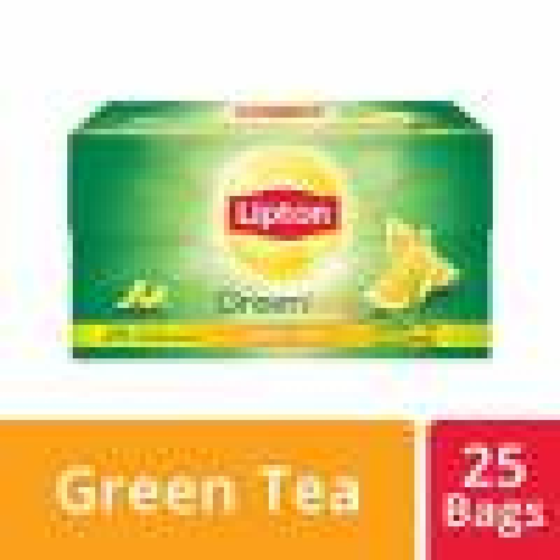 LIPTON GREEN TEA LEMON ZEST(25 TEA BAGS)