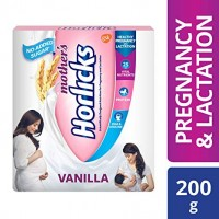MOTHER'S HORLICKS VANILLA FLAVOUR 200G