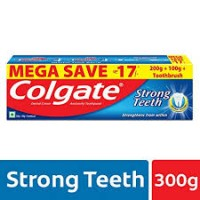 COLGATE STRONG TEETH (200G+100G+1TOOTHBRUSH)