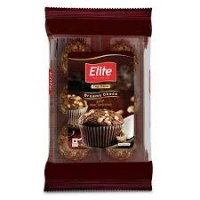 ELITE  CHOCOLATE FLAVOURED CUP CAKE PACK OF 4