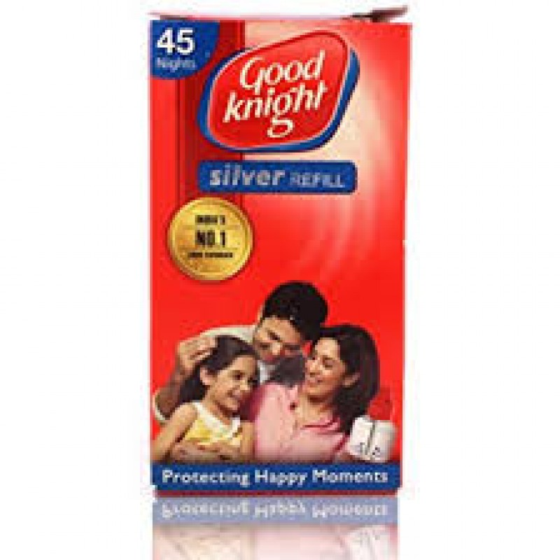 GOOD KNIGHT SILVER REFILL 45ML