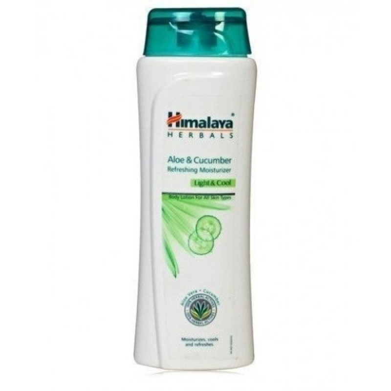 HIMALAYA ALOE AND CUCUMBER REFRESHING BODY LOTION 200ML