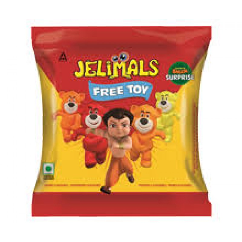 JELIMALS  JELLY BEARS 36 G