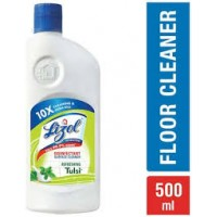 LIZOL DISINFECTANT SURFACE CLEANER REFRESHING TULSI  500ML