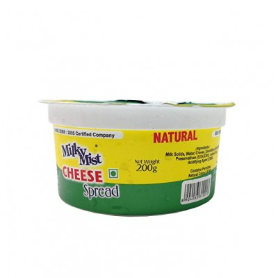 MILKY MIST CHEESE SPREAD NATURAL 200G
