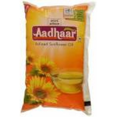 AADHAAR REFINED SUNFLOWER OIL 1L