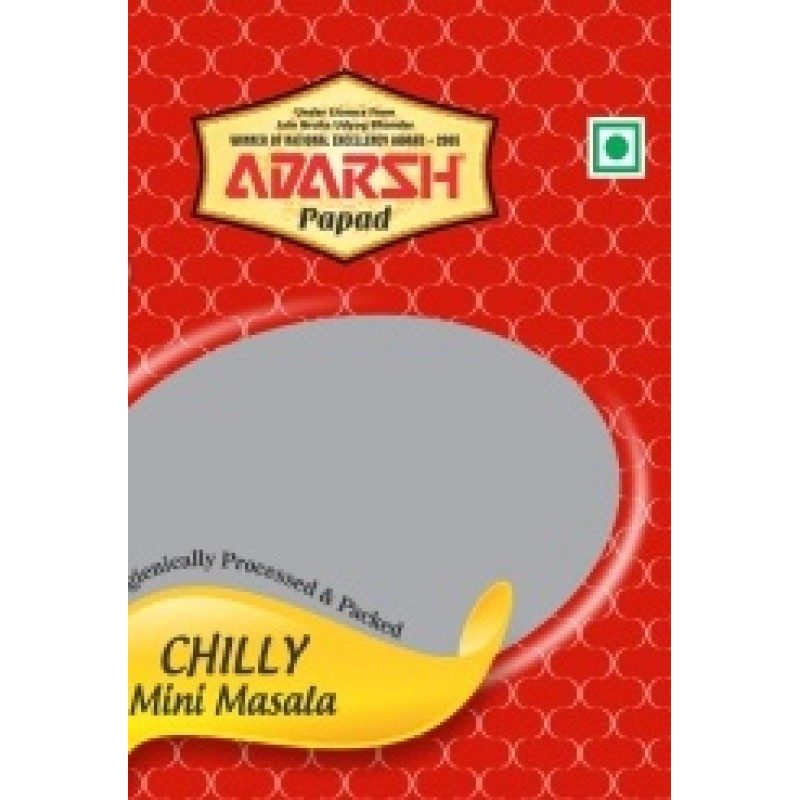 ADARSH PAPAD CHILLI MINI MASALA 100G