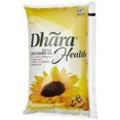 DHARA REFINED SUNFLOWER OIL 1L