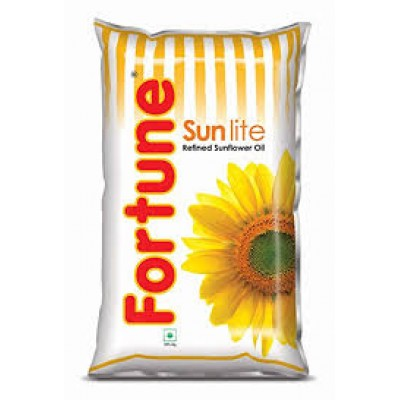 FORTUNE SUNLITE REFINED SUNFLOWER OIL - 1000ML