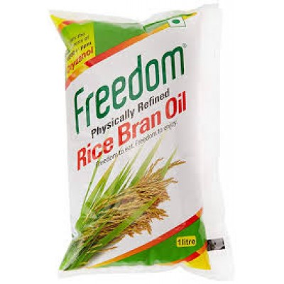 FREEDOM PHYSICALLY REFINED RICE BRAN OIL 1L