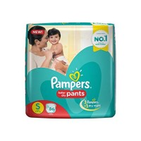 PAMPERS BABY PANTS S 4-8 KG 86 PANTS