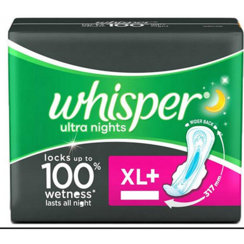 WHISPER ULTRA NIGHTS XL+