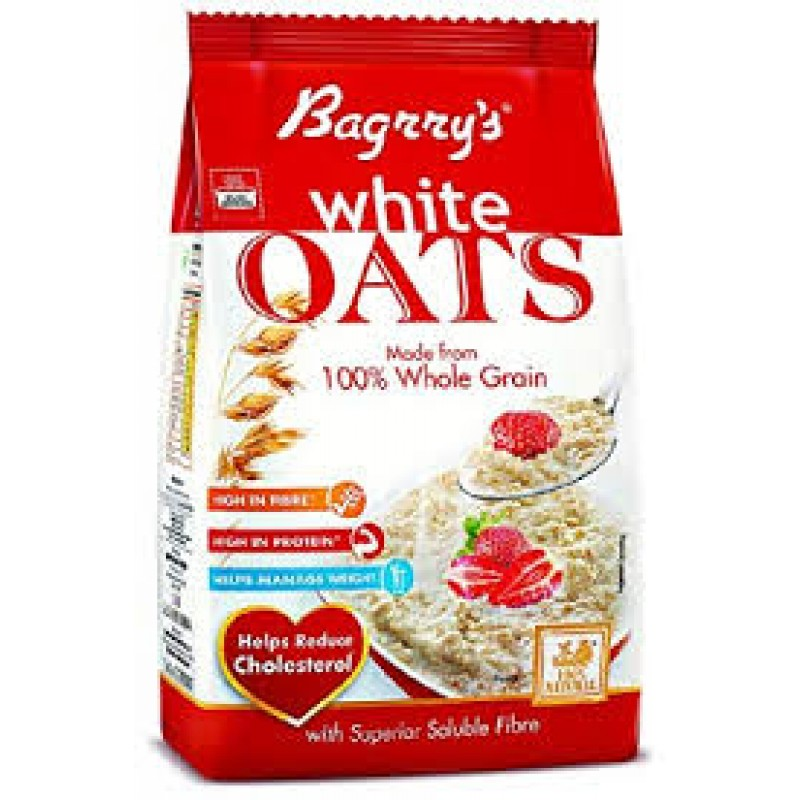 BAGRRY'S WHITE OATS 1KG